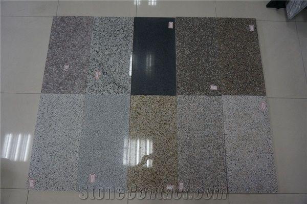 Grey Sardo Granite Slabs Tiles G640 Granite G603 Marble