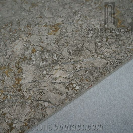 Turkey Iceland Grey Marble Polished Marble Flooring Tile