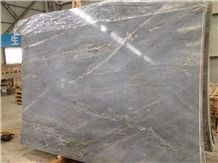 Marina Lady Marble Slab, China Blue Marble with Golden Veins
