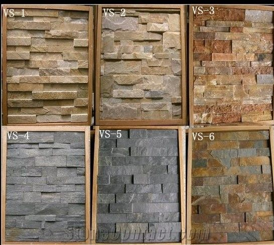 Natural exterior decorative wall stone types of natural Stone products for home exterior