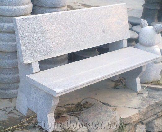 Merveilleux Natural Granite Outdoor Bench, Garden Bench, Stone Benches