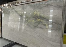 Brazilian Luxury Ocean Pearl Quartzite Slabs