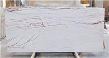 Rosso Venato Marble Tiles & Slabs, White Marble Tiles & Slabs