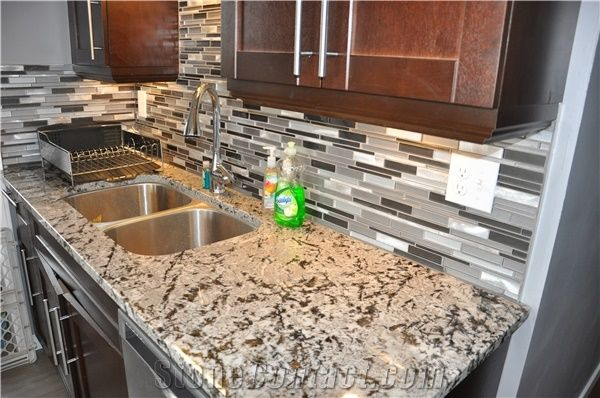 Alaska White Granite Kitchen Countertops From Canada