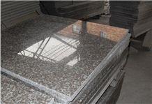 Cheap G664 Polished Granite/Luo Yuan Red Granite/ Brainbrook Brown Granite/Black Spots Brown Granite/China Pink Tiles & Slabs for Floor and Wall Covering