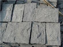 Rustenburg Granite Cube Stone, Pavers,Black Granite Cube Stone & Pavers