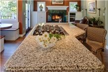 New Venetian Gold Granite Kitchen Countertop