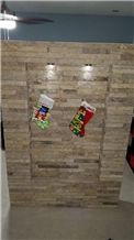Laja Vallecillo Stacked Exposed Wall Stone