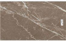 Vizone Marble Tiles & Slabs, Brown Polished Marble Floor Tiles