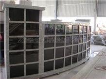 China Shanxi Black Granite Columbariums Design, G603 Cemetery Mausoleum Crypts Design, Cremation Columbarium