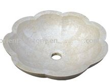 China White Marble Oval Sink, Natural Stone Carved Basins for Bathroom, Sculpture Sinks, Guangxi White Marble Sinks & Basins