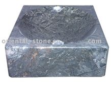 Natural G679 Granite Marble Stone Bathroom Square Sinks, Vessel Wash Basins