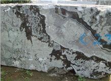 Fantasy Lily Granite Block -Cross Cut