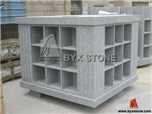 36 Niches G633 Granite Columbarium for Cemetery with Square Shape