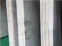 China Bianco Carrara Marble Polished Slabs & Tiles for Walling, Flooring,China White Marble Slabs