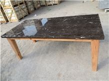 Royal Brown Marble Polished Table Top