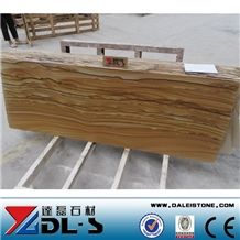 Yellow Sandstone Slabs for Cladding or Paving, China Yellow Sandstone