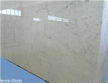 Bianco Gioia Marble Tiles & Slabs, Italy White Marble Polished Floor Tiles, Wall Tiles