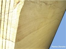 Pietra Dorata Sandstone Tiles & Slabs, Yellow Sandstone Flooring Tiles, Covering Tiles