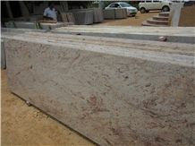Ivory Brown Granite Slabs India