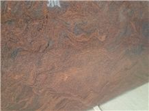 Multicolour Red Granite Slabs & Tiles