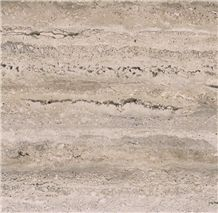 Silver Light Travertine Tiles & Slabs, Afyon Silver Travertine Floor Tiles, Grey Travertine Wall Tiles