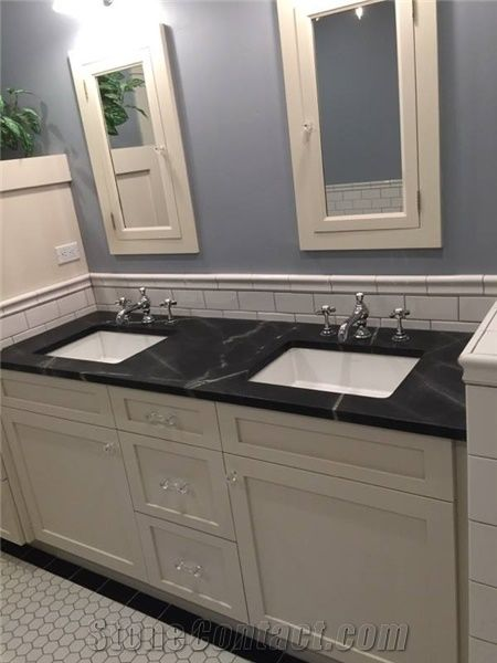 Black Sea Soapstone Bathroom Counter From United States