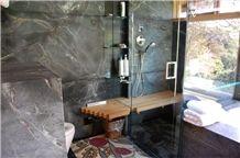 Pratima Soapstone Bath Design