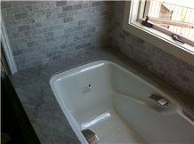 Utapau Forest Soapstone Bathtub Deck and Surround
