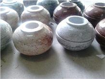 Granite Vase , Granite Flower Pot, Granite Urn Vaults