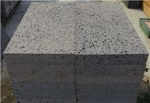 Basalt Stone Paving Step, Grey Natural Color Stepping Volcanic Stone