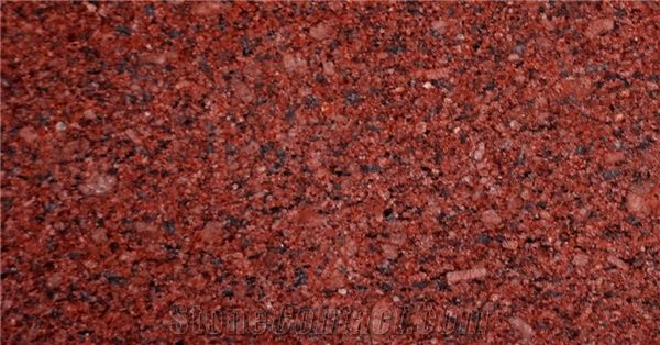 Gem Red Granite Tiles Slabs Polished Flooring And Walling Tiles From India Stonecontact Com