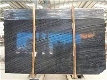 China Wholesaler Quarry Owner Antico Black Wood Vein Marble Slab, Kenya Black Marble Slabs, Zebra Black Marble Tiles Slabs