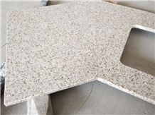G682 Granite Countertops For Hotel Golden Garnet Kitchen