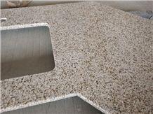 G682 Granite Countertops For Hotel Golden Garnet Kitchen Top Project Sand Beige Sandy Gold Desert Giallo Fantasia Ming