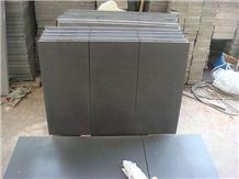 China Black Sandstone Tile & Slab Sichuan Black Sandstone