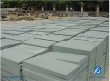 Verde Ceniza Sandstone Tiles & Slabs, Green Sandstone Tiles & Slabs, China Green Sandstone