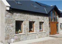 Mountcharles Sandstone Masonry Building, Walling, Beige Sandstone for Walling Ireland