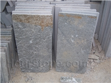 China Grey & Yellow Rust Slate Slab &Tile,Flooring