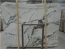 Clivia White Marble Hubei Green&White Marmoles