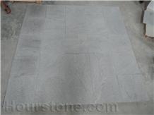 Shanshui White Granite Cross Cut Brushed Tiles