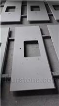 White Nano Glass Countertop,Artificial Quartz