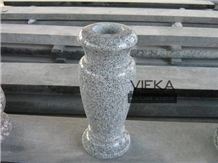 G603 Granite Tombstone Monument Memorials 046 Urn, Vase & Bench