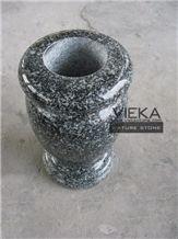 G699 Granite Tombstone Monument Memorials 002 Vase