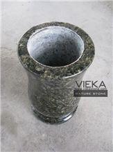 Granite Tombstone Monument Memorials 003 Vase