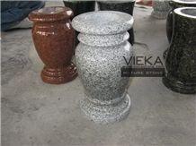 Granite Tombstone Monument Memorials 018 Vase
