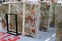 Pakistan Green Onyx Slabs China Manufacturer