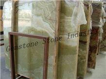 Pakistan Green Onyx Slabs,Onyx Wall Tiles,Onyx Floor Tile Paver