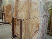 Professional Onyx Manufacturer Slabs & Tiles, Pakistan Beige Onyx