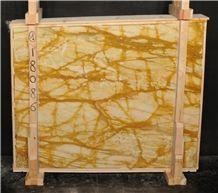 Giallo Siena Marble Slabs & Tiles